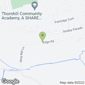 Map of Graham Broadhead Builders Ltd in Dewsbury, west yorkshire