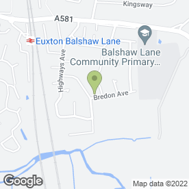 Map of Price Painters & Decorators in Euxton, Chorley, lancashire