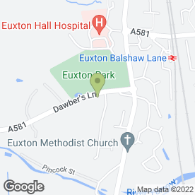 Map of Neil Dobson Kitchens in Euxton, Chorley, lancashire