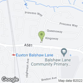 Map of David Still Decorator in Euxton, Chorley, lancashire