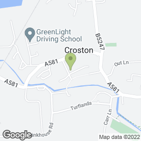 Map of Hair Extension by Becky in Croston, Leyland, lancashire