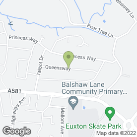 Map of M Charnock in Euxton, Chorley, lancashire