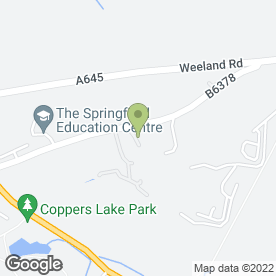 Map of Nautilus Aquatics in Crofton, Wakefield, west yorkshire
