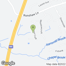 Map of Euxton Terminators in Chorley, lancashire
