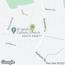 Map of Roadrunner in Ossett, west yorkshire