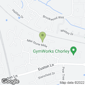 Map of Cathy Clough Childminding in Euxton, Chorley, lancashire