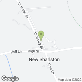 Map of Aerial Express in New Sharlston, Wakefield, west yorkshire