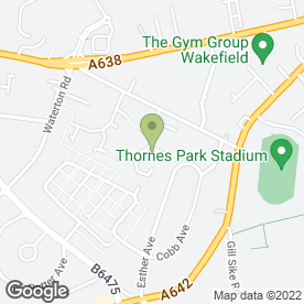 Map of Richard's Home & Garden Maintenance in Wakefield, west yorkshire