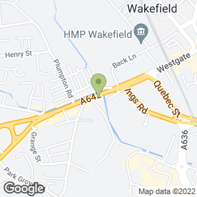 Map of Wakefield Floorcare in Wakefield, west yorkshire