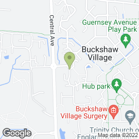 Map of Vision Electrical & Property Services in Buckshaw Village, Chorley, lancashire