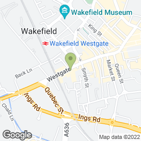 Map of Tastebuds in Wakefield, west yorkshire