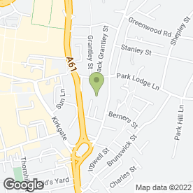 Map of Warrengate Medical Centre in Wakefield, west yorkshire