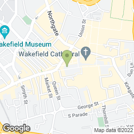 Map of Timpson Locksmith & Safe Engineers in Wakefield, west yorkshire
