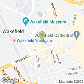 Map of Switalskis Solicitors in Wakefield, west yorkshire