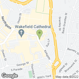 Map of Leodis Stairlifts (Wakefield) in Wakefield