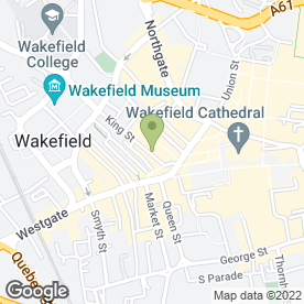 Map of Richmond House Veterinary Centre in Wakefield, west yorkshire