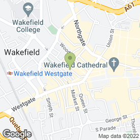 Map of Jordans Solicitors in Wakefield, west yorkshire