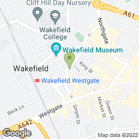 Map of Clinical Hypnotherapist in Wakefield, west yorkshire