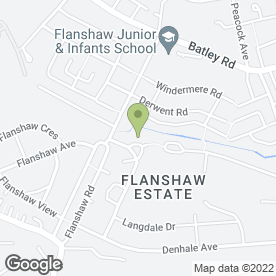 Map of A Stitch in Time in Flanshaw, Wakefield, west yorkshire