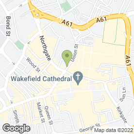 Map of Fat Frog in Wakefield, west yorkshire