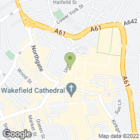 Map of Fultons Foods in Wakefield, west yorkshire
