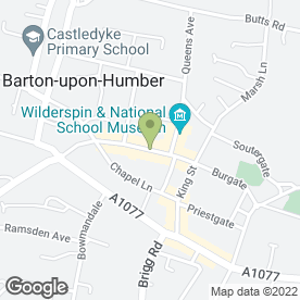Map of Professional Beauty Treatment in Barton-Upon-Humber, south humberside