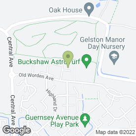Map of Cash Registers 747 in Buckshaw Village, Chorley, lancashire