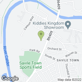 Map of Dewsbury Veterinary Hospital in Dewsbury, west yorkshire