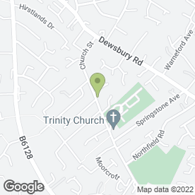Map of Shogun Martial Arts in Ossett, west yorkshire