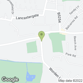 Map of Clough House Residential Care Home in Leyland, lancashire