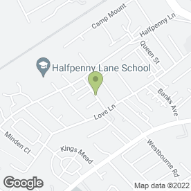 Map of S.W Tree & Garden Services in Pontefract, west yorkshire