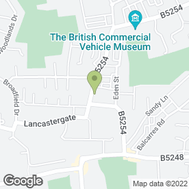 Map of The Flooring Firm Ltd in Leyland, lancashire