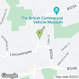 Map of Towngate Dental Practice in Leyland, lancashire