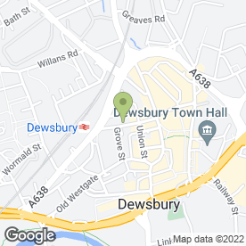 Map of Switalskis Solicitors in Dewsbury, west yorkshire