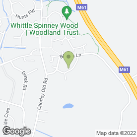 Map of GB Joinery & Building in Whittle Le Woods, Chorley, lancashire