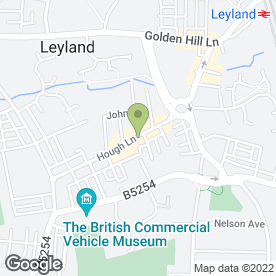 Map of Heaven On Earth Ltd in Preston, Leyland, lancashire