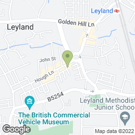 Map of The Nail & Beauty Spa in Leyland, lancashire