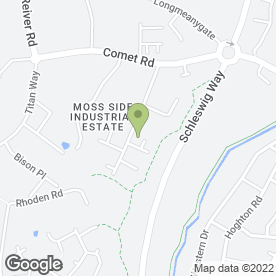 Map of Mobility Care Services in 125 Clydesdale Place, Leyland, lancashire