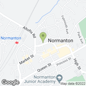 Map of Kings Medical Practice in Normanton, west yorkshire