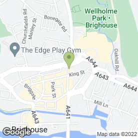 Map of M & A LOCKSMITHS in Brighouse, west yorkshire