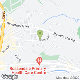 Map of D & G Decorators in Rossendale, lancashire