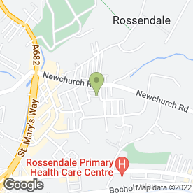 Map of R & M Bromley in Rossendale, lancashire