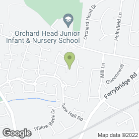 Map of Chris Lumb Driving School in Pontefract, west yorkshire