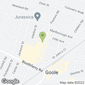 Map of Goole Car & Van Hire - Dominic & Son Ltd in Goole, north humberside