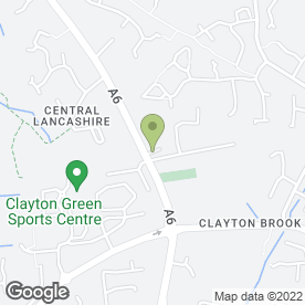Map of Higher Morris Farm in Clayton-le-Woods, Chorley, lancashire