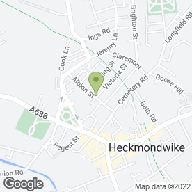 Map of Dr S.P Ahmed in Heckmondwike, west yorkshire