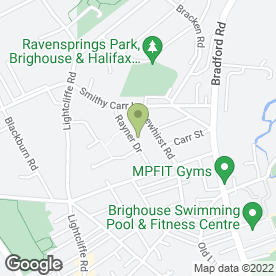 Map of RJM Accountants in Brighouse, west yorkshire
