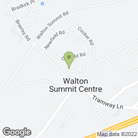 Map of Forbo Flooring Systems in Bamber Bridge, Preston, lancashire