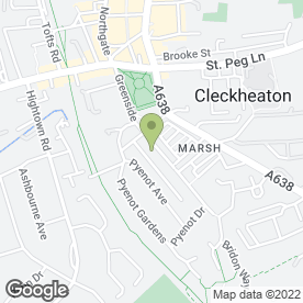Map of Gordon S Muir Design Ltd in Cleckheaton, west yorkshire
