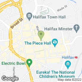 Map of Timpson Locksmith & Safe Engineers in Halifax